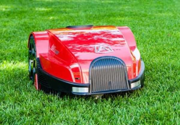 Ambrogio L30 robot mower on grass