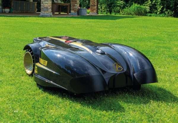 Ambrogio L400 robot mower on grass