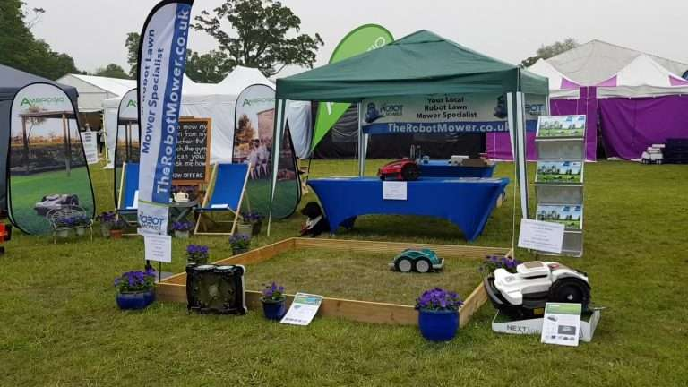 Hyland House display for The Robot Mower