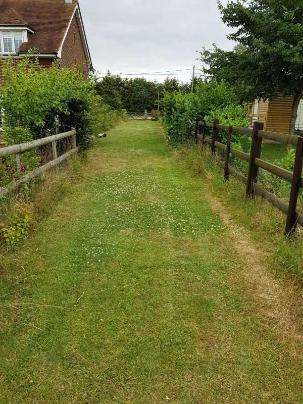 Narrow strip area 2
