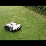 Ambrogio 4.0 robot mower does a spiral cut