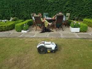 Ambrogio 4.0 Robot Mower at home
