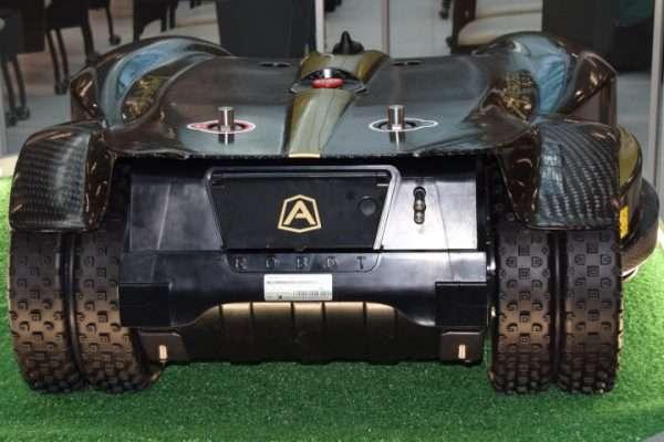 Ambrogio L400i Robot Mower Rear