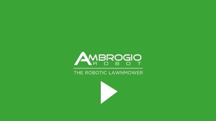 Ambrogio Robot Mowers in Action