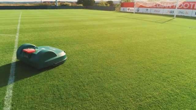 Belrobotic Football pitch mower