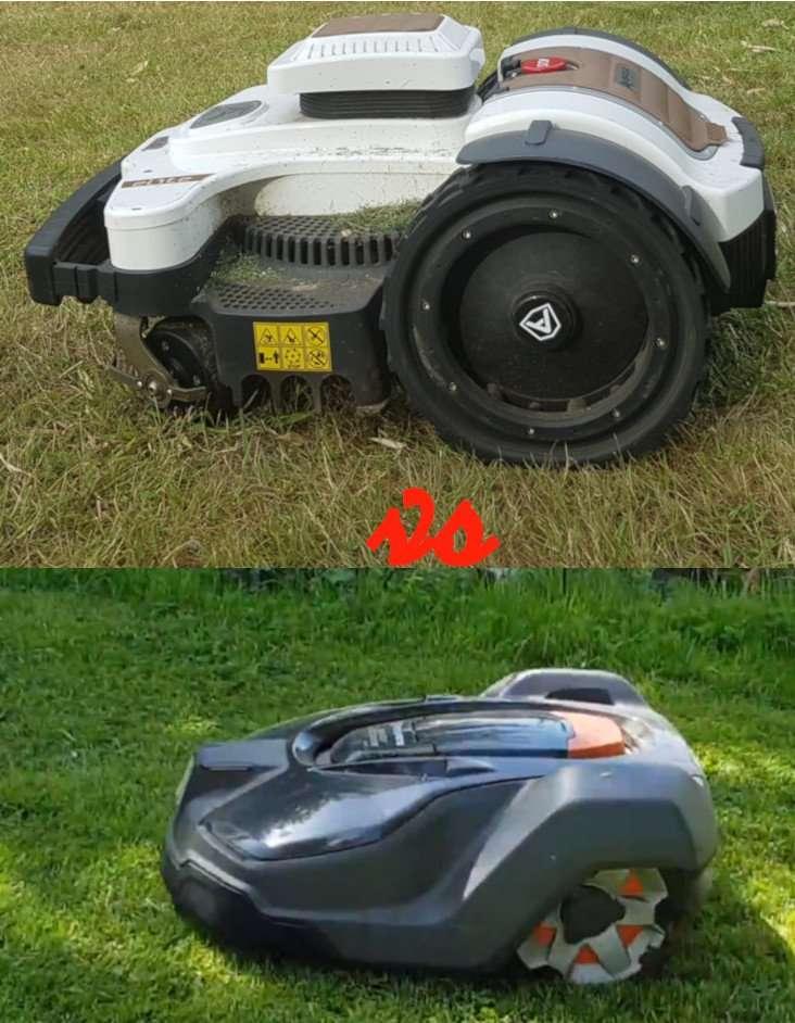 Husqvarna vs Ambrogio robot mowers