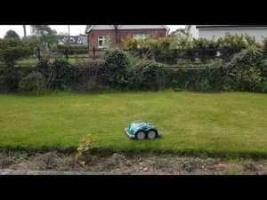 L60 mowing in walled garden video